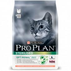 Pro Plan Sterilised сухой корм для кастрированных котов с лососем 400г