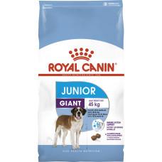 Royal Canin giant Junior корм для щенков больших пород с 8 до 18/24 мес 15 кг.