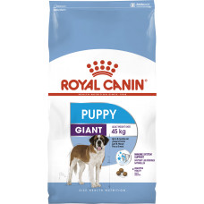Royal Canin giant puppy корм для щенков больших пород с 2х до 8 мес 15 кг.