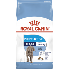 Royal Canin Maxi Puppy active корм для щенков с энергетическими потребностями с 8 до 18/24 мес 4 кг.