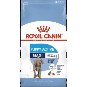 Royal Canin Maxi Puppy active корм для щенков с энергетическими потребностями с 8 до 18/24 мес 15 кг.