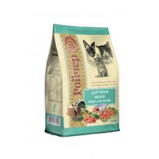 Ройчер Дары моря (рыба) сухой корм для кошек 0,4 кг