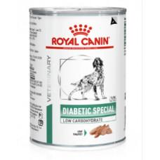 Royal Canin Diabetic Special Low Carbohydrate полнорационный диетический корм для собак при сахарном диабете, 0,41 кг