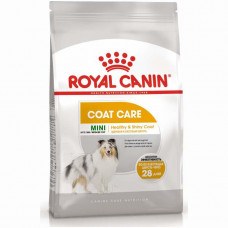 Royal Canin Mini Coat Care сухой корм для собак с тусклой и сухой шерстью 1 кг