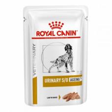 Royal Canin Urinary S / O Aging 7 + шляхів паштет для собак при захворюваннях нижніх сечовивідних 85 г