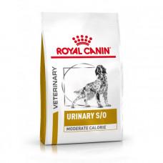 Royal Canin Urinary S/O Moderate Calorie Dog сухой корм для собак при заболеваниях нижних мочевыводящих путей 12 кг
