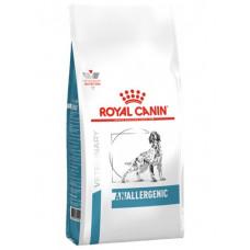 Royal Canin anallergenic Canine корм для собак при пищевой аллергии или непереносимости с ярко выраженной гиперчувствительностью 8 кг.