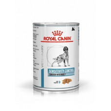 Royal Canin sensitivity Canine chicken cans консерви для собак при харчової алергії, курка з рисом 0,42 кг.
