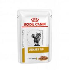 Royal Canin Urinary S/O Moderate Calorie консервы для кошек при заболеваниях нижних мочевыводящи кусочки в соусе 85 г