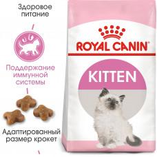 Royal Canin kitten сухой корм для котят до 12 месяцев 0,4 кг.
