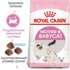 Royal Canin mother&babycat корм для котят 1 до 4 месяцев и для кошек при беременности и лактации 4 кг.