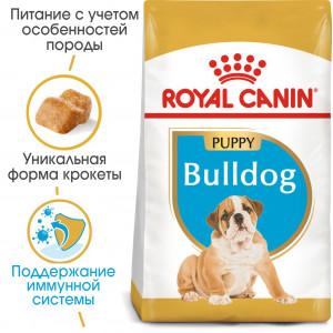 Royal Canin Bulldog Puppy корм для цуценят до 12 місяців 12 кг.