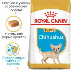 Royal Canin chihuahua (Чихуахуа) Junior корм для щенков в возрасте до 8 месяцев 0,5 кг.