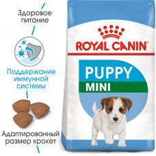 Royal Canin Mini Puppy корм для щенков мелких пород от 2 до 10 месяцев 0,8 кг.