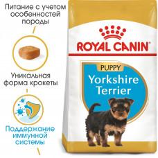 Royal Canin yorkshire Junior корм для щенков до 10 месяцев 1,5 кг.