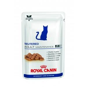 Royal Canin neutered Adult maintenance корм для кастрированных, стерилизованных котов после операции до 7 лет 0,1 кг.