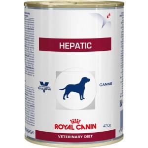 Royal Canin hepatic Canine wet консерви для собак при захворюваннях печінки, пироплазмозе 0,42 кг.
