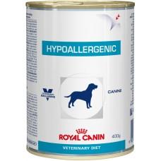 Royal Canin hypoallergenic Canine cans консервы для собак с пищевой аллергией или непереносимостью 0,4 кг.