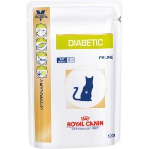 Royal Canin diabetic feline pouches вологий корм для котів при цукровому діабеті 0,1 кг.