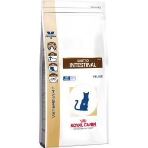 Royal Canin gastro intestinal feline корм для кошек при нарушении пищеварения 2 кг.