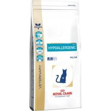 Royal Canin hypoallergenic feline корм для кошек при пищевой аллергии, непереносимости 0,5 кг.