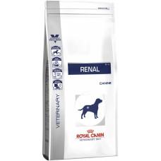 Royal Canin renal Canine корм для взрослых собак с хронической почечной недостаточностью 14 кг.