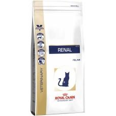 Royal Canin renal feline корм для взрослых кошек с хронической почечной недостаточностью 0,5 кг.
