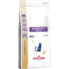 Royal Canin sensitivity control feline корм для кошек при пищевой аллергии, непереносимости 0,4 кг.