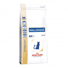 Royal Canin Anallergenic Feline корм для кошек при пищевой аллергии и непереносимости кормовых продуктов 2 кг.