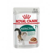 Royal Canin instinctive +7 wet вологий корм для котів старше 7 років 0,085 кг.