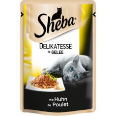 Sheba cig POU консервы для кошек с курицей в желе 85 г