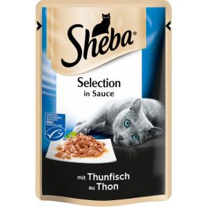 Sheba cig POU консервы для кошек с тунцом в соусе 85 г