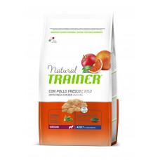 Trainer Natural Adult Medium сухой корм для взрослых собак средних пород с курицей, рисом и алоэ вера 12 кг