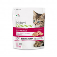 Trainer Natural Kitten сухой корм для котят с курицей 0,3 кг