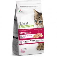 Trainer Natural Kitten сухой корм для котят с курицей 7,5 кг