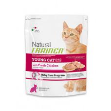 Trainer Natural Young Cat сухой корм для молодых кошек с курицей 1,5 кг