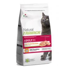 Trainer Natural Adult сухой корм для взрослых кошек с курицей 12,5 кг