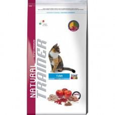 Trainer Natural Adult сухой корм для взрослых кошек с тунцом 1,5 кг