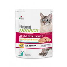 Trainer Natural Adult Sterilised сухой корм для взрослых стерилизованых кошек с белым мясом 1,5 кг