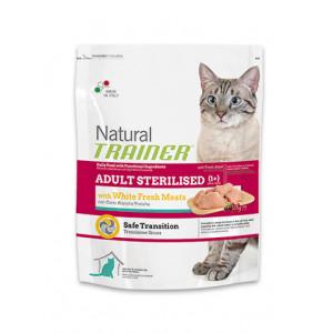 Trainer Natural Adult Sterilised сухой корм для взрослых стерилизованых кошек с белым мясом 3 кг