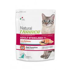 Trainer Natural Adult сухой корм для взрослых кошек с лососем 3 кг