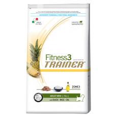 Trainer Fitness3 Adult Mini сухой корм для взрослых собак мелких пород с уткой, рисом и маслом 7,5 кг