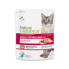 Trainer Natural Adult сухой корм для взрослых кошек с лососем 12,5 кг