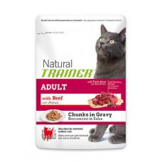 Trainer Natural Adult сухой корм для взрослых кошек с говядиной 0,3 кг