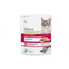 Trainer Natural ADULT STERILISED with Salmon - корм для стерилизованных кошек (лосось) 10 кг