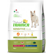 Сухой корм для собак Natural Trainer Dog Sensitive Plus Adult MM With Horse с кониной, рисом и маслом 3 кг