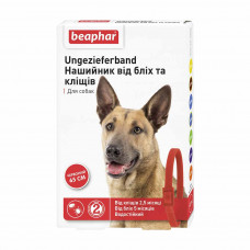 Ошейник для собак Beaphar 65 см (от внешних паразитов, цвет: красный)