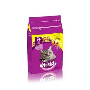 Whiskas (Вискас) консервы для кошек старше 7 лет с курицей 350г