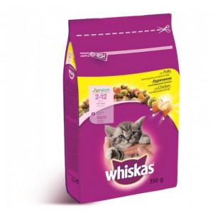Whiskas (Вискас) консервы для котят с курицей 350г