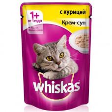 Whiskas (Вискас) консервы крем-суп с курицей 85г